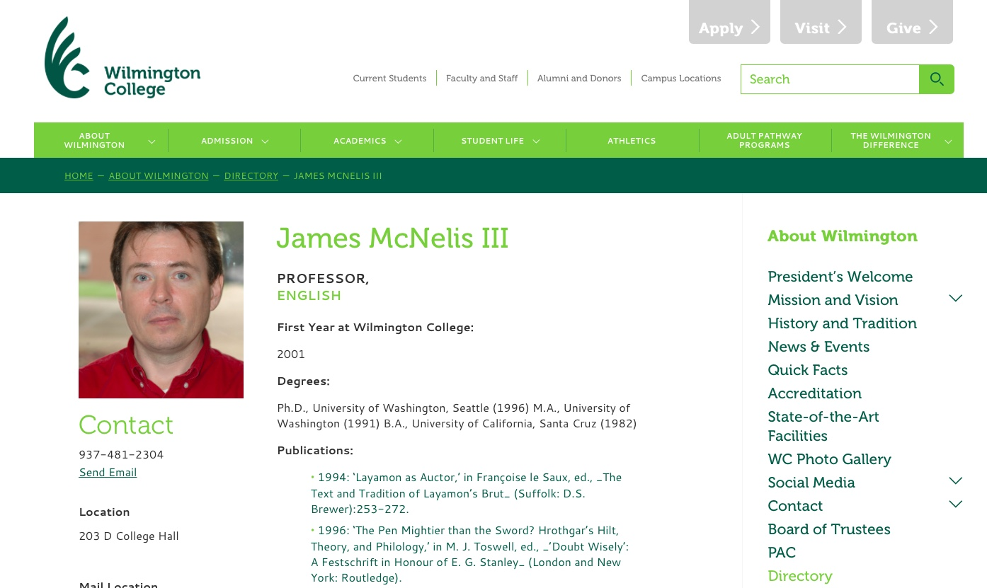 My faculty webpage